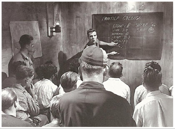 Frontier College Learners in Class, probably 1950s
