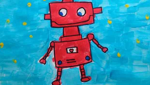Kids robot website