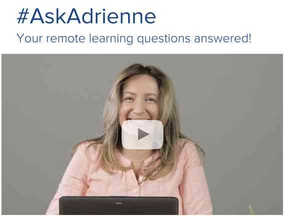 Ask Adrienne Sidebar