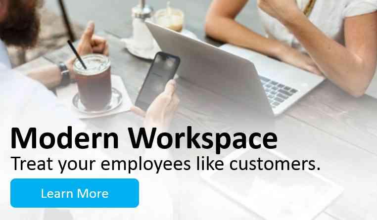 Modern Workspace Banner 2