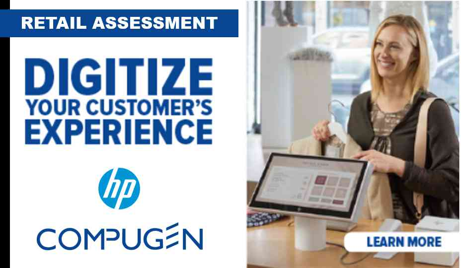 Retail assessment POS banner