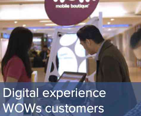 wow mobile digital experience