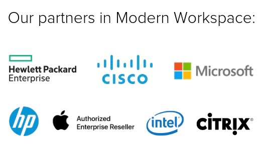 Our partners in Modern Workspace 2