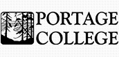 Portage college logo